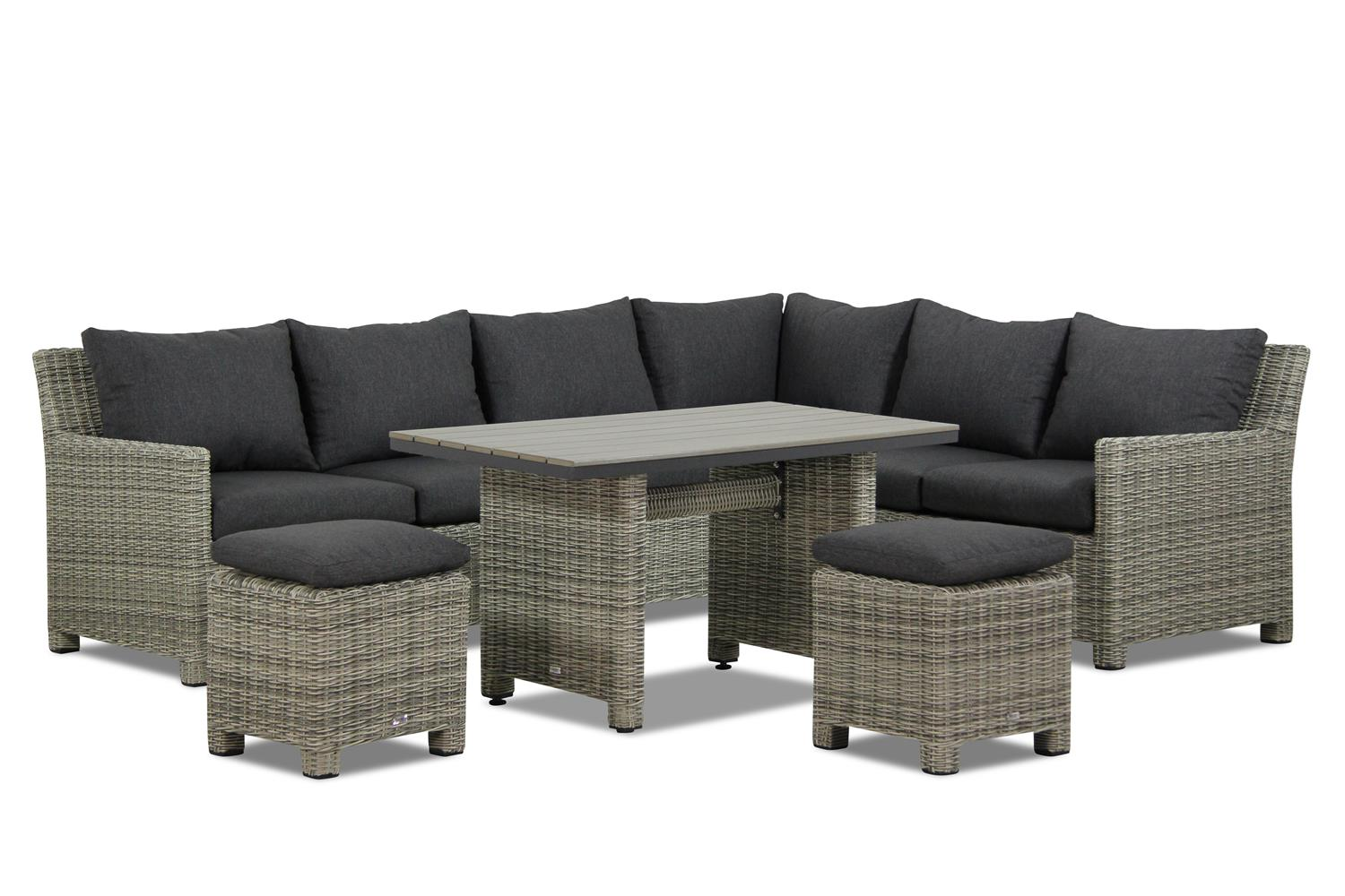 Garden Collections Lusso dining loungeset 7 delig