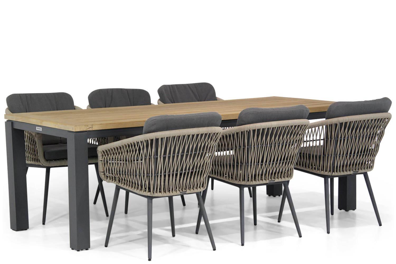 Lifestyle Western-Veneto 230 cm dining tuinset 7-delig