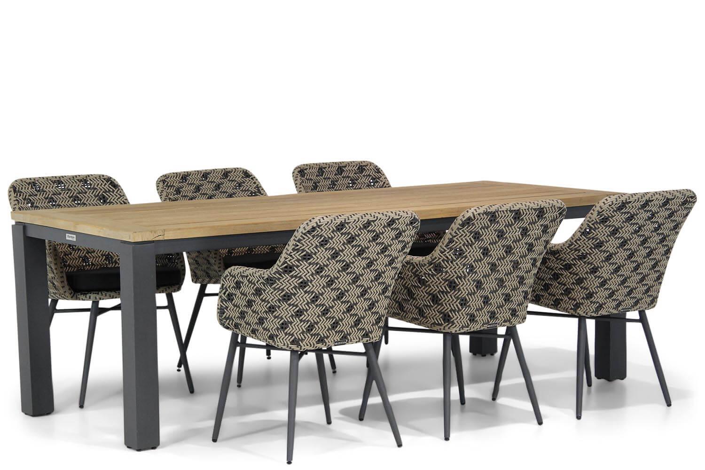 Lifestyle Crossway-Veneto 230 cm dining tuinset 7-delig