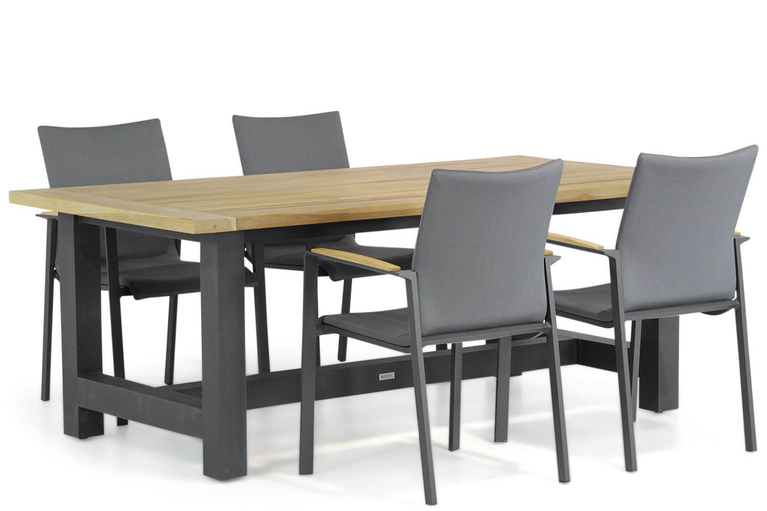 Lifestyle Brandon/San Francisco 200 cm dining tuinset 5-delig