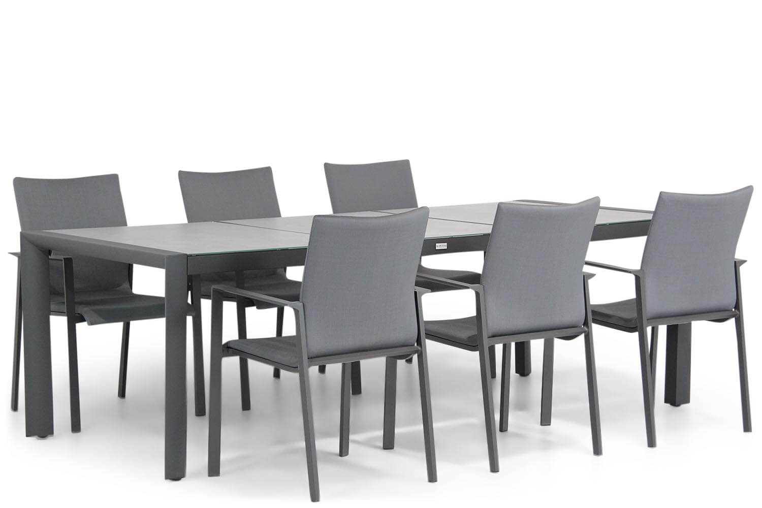 Lifestyle Rome/Lido 240 cm dining tuinset 7-delig