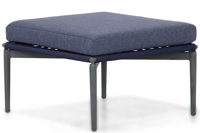 Lifestyle Alanya lounge voetenbank navy blue