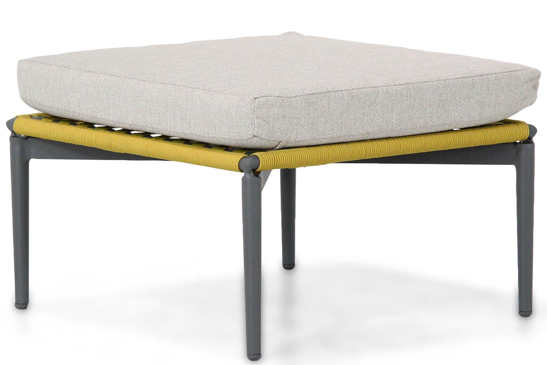 Lifestyle Alanya lounge voetenbank sunny yellow