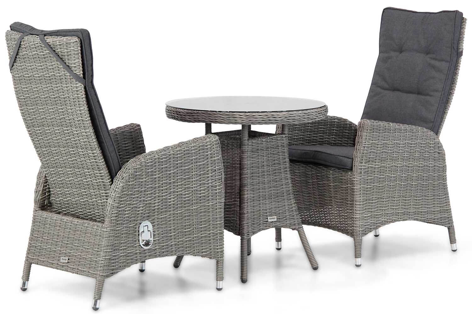 Garden Collections Lincoln/Bolton dining tuinset 3-delig
