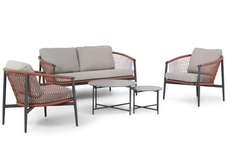 Lifestyle Antaly-Saka stoel-bank loungeset 5-delig