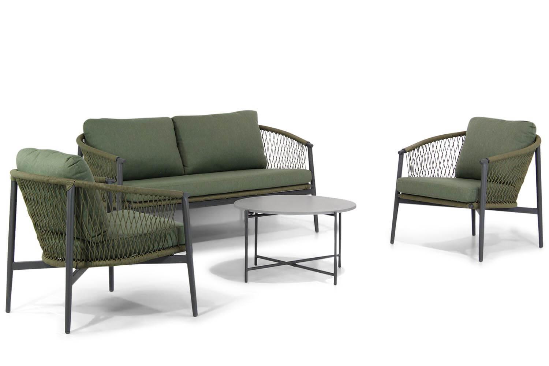 Lifestyle Antaly/Saka stoel-bank loungeset 4-delig