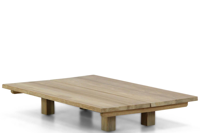 Santika Metropolis low lounge table teak 120x80