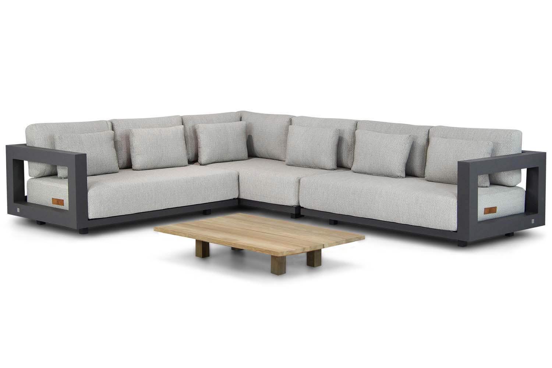4 Seasons Outdoor Metropolitan Santika 120 cm hoek loungeset 4 delig