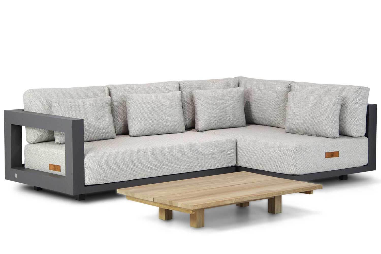 4 Seasons Outdoor Metropolitan Santika 120 cm hoek loungeset 3 delig