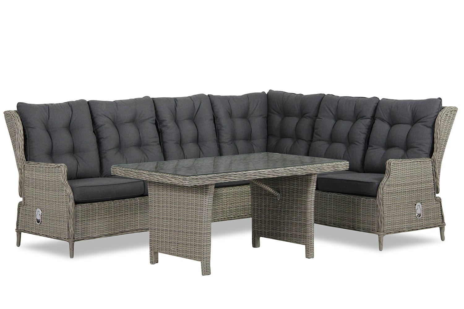 Garden Collections New Castle dining loungeset 5-delig