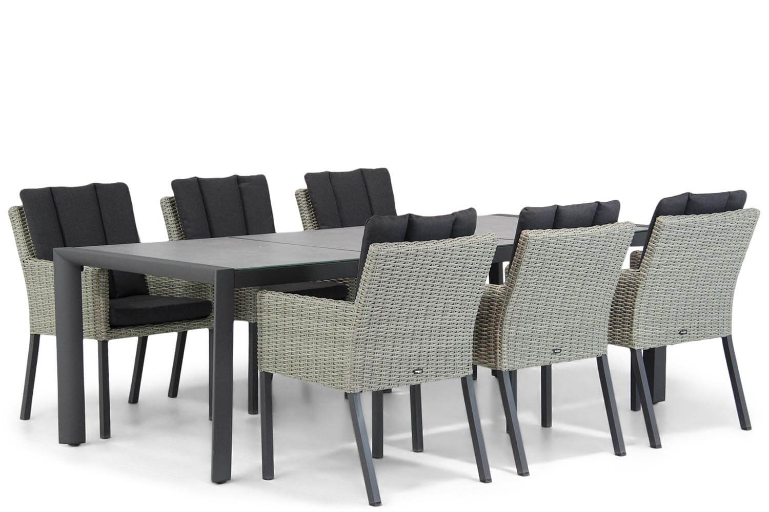 Garden Collections Oxbow-Lido 240 cm dining tuinset 5-delig