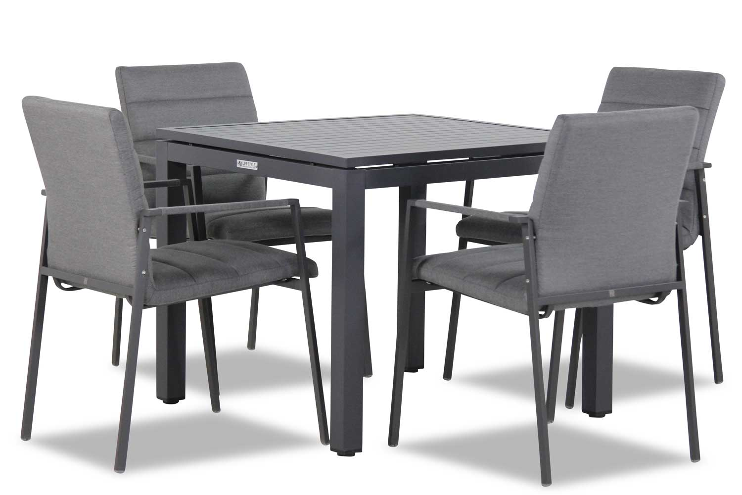 4 Seasons Outdoor Panama/Concept 90 cm dining tuinset 5-delig