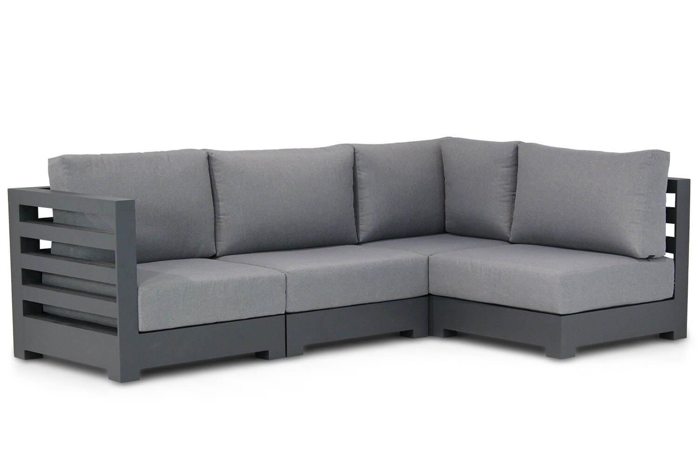 Santika Phantom chaise longue loungeset 4 delig