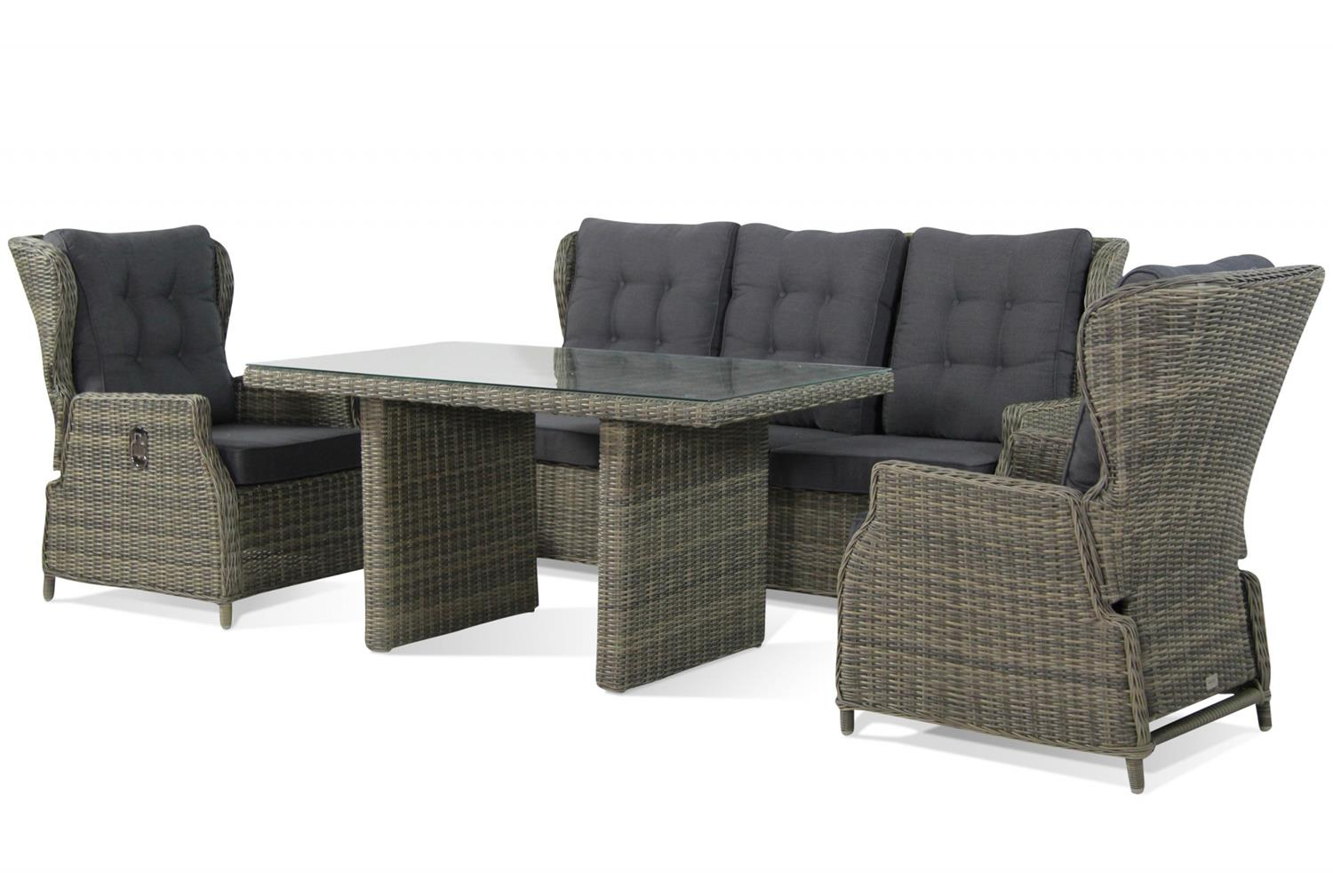 Garden Collections Royalty Dining loungeset 4-Delig
