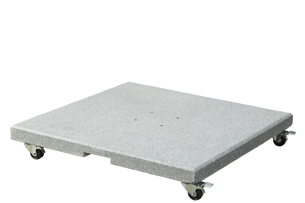 Platinum Salerno parasolvoet 90 kg verrijdbaar