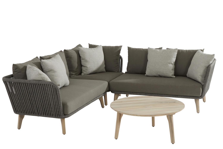 Image of 4 Seasons Outdoor Santander/Gabor hoek loungeset 4-delig