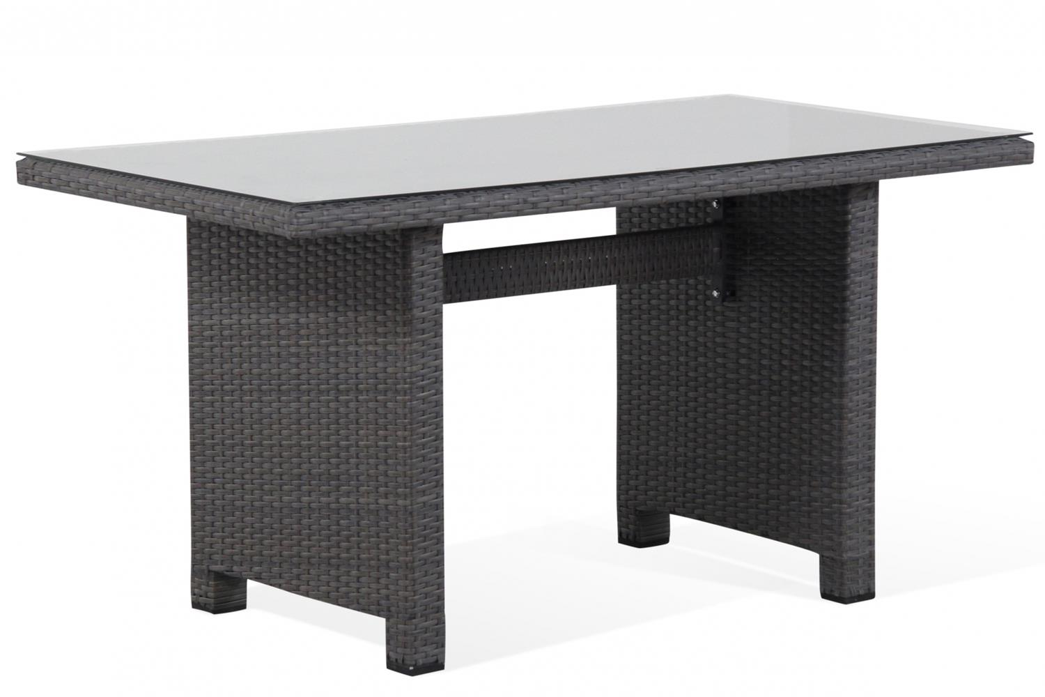 Garden Collections Houston lounge/dining tafel 130 x 70 cm