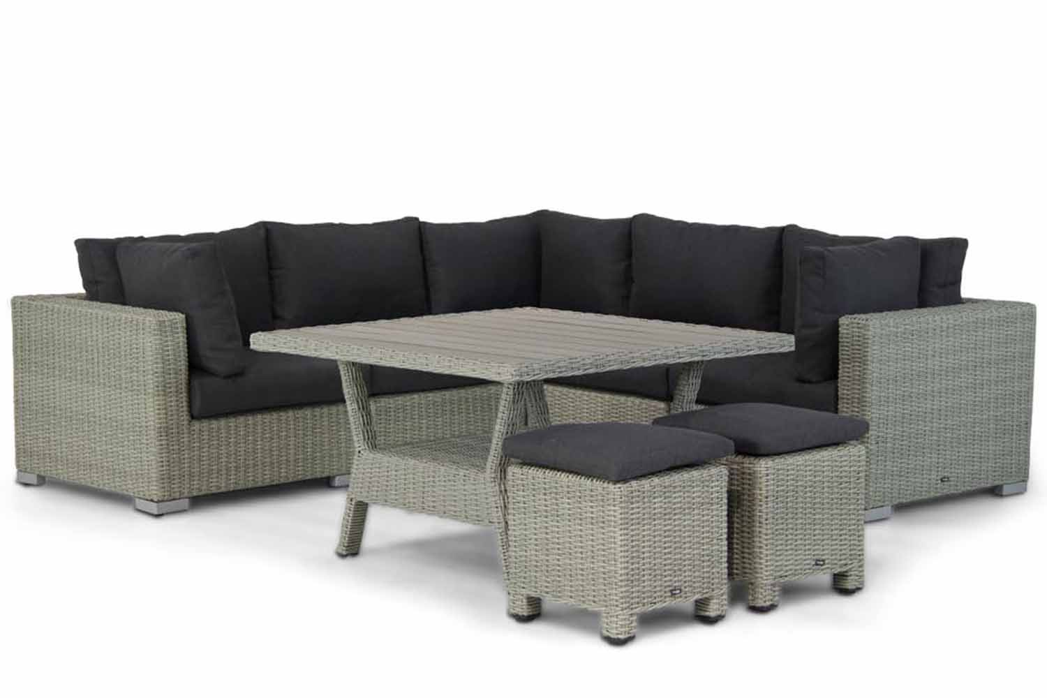 Garden Collections Toronto/Mayflower 120 cm hoek loungeset 6-delig
