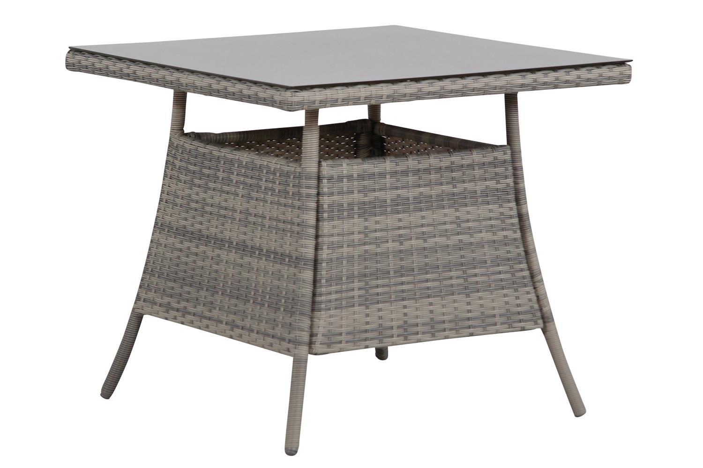Domani Trondheim lounge/dining tuintafel 80 x 80 cm