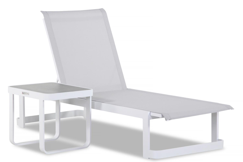 Lifestyle Vista lounger verstelbaar 2-delig
