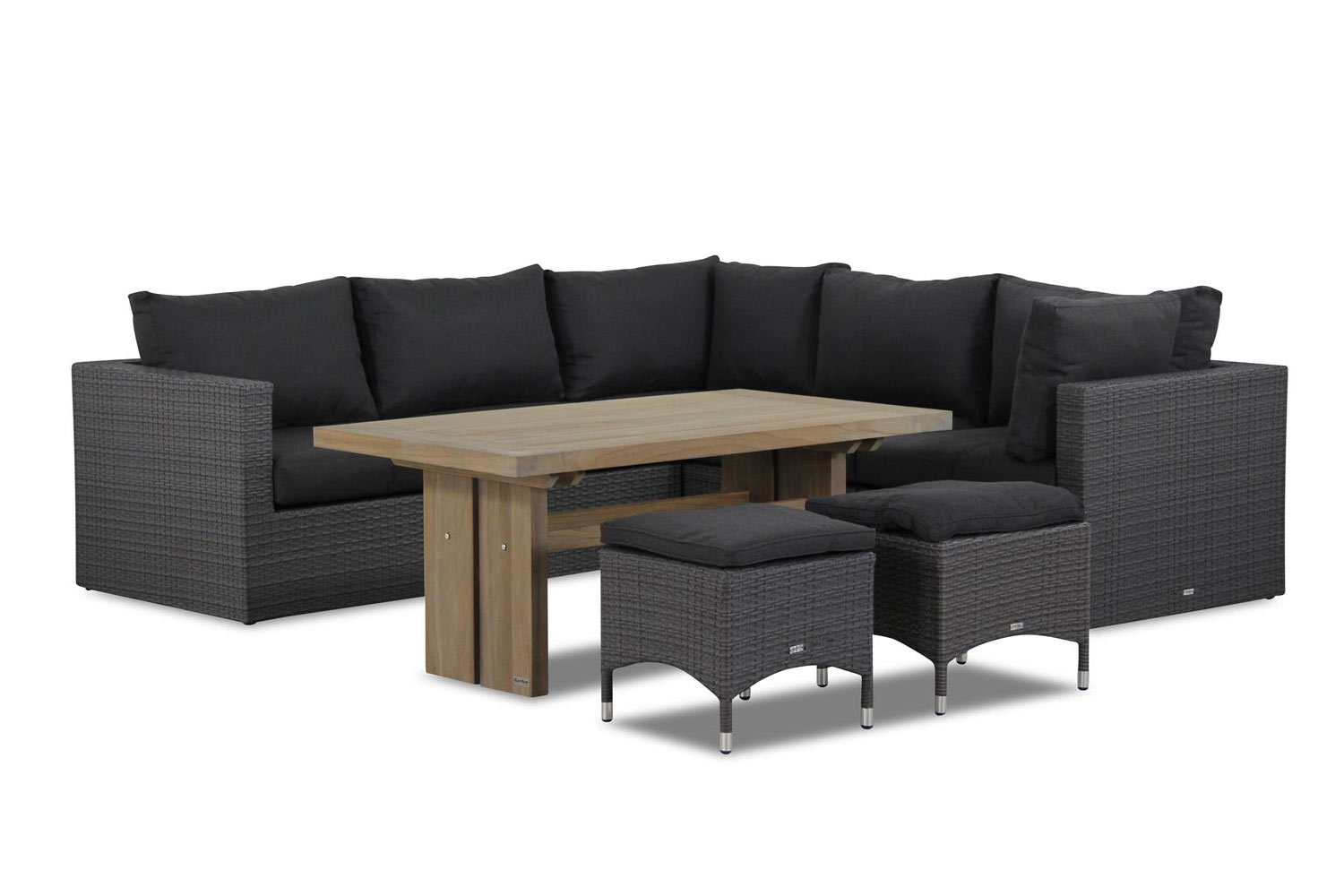Garden Collections Houston/Brighton dining loungeset 8-delig