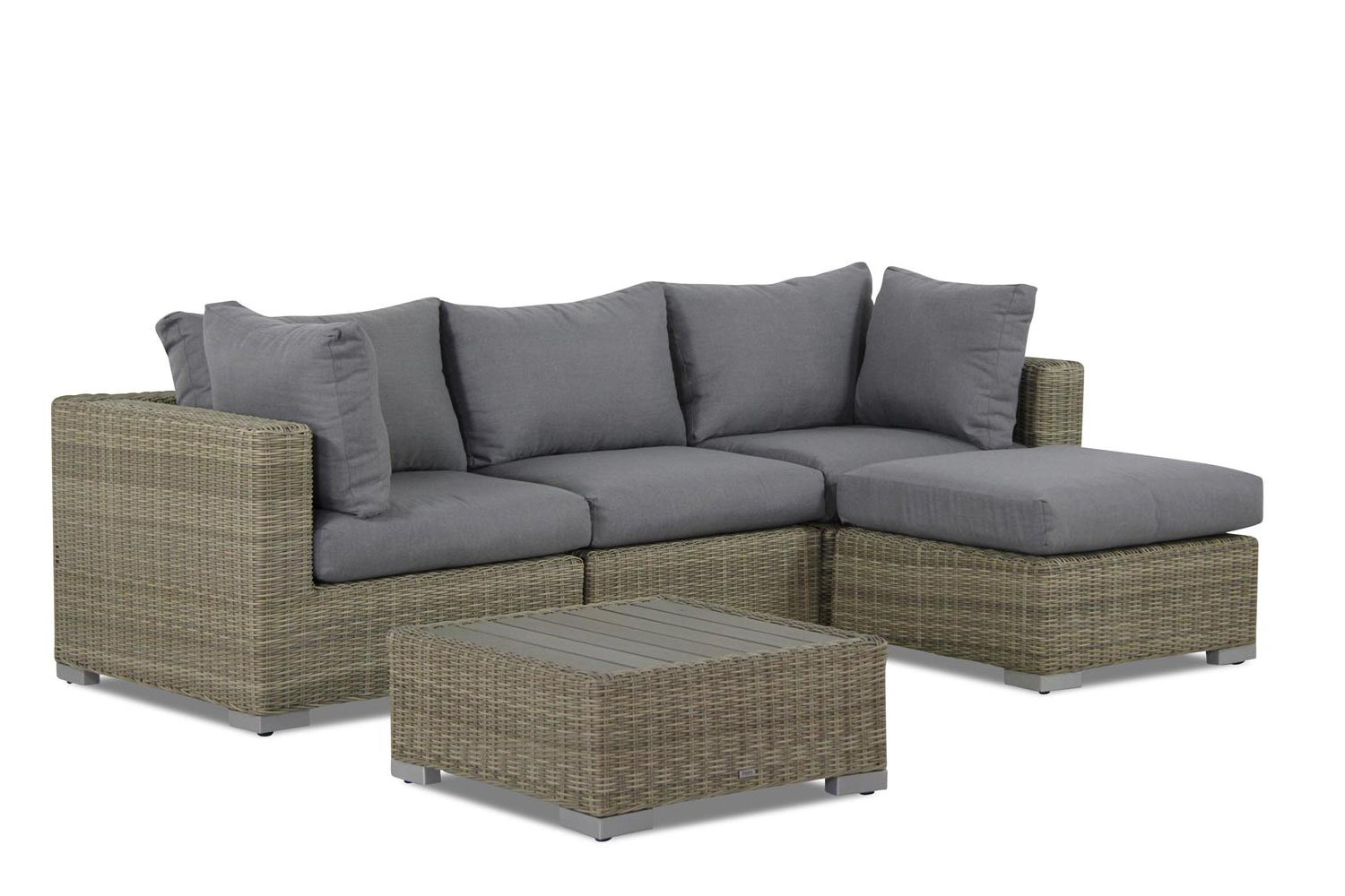 Garden Collections Toronto chaise longue loungeset 5 delig