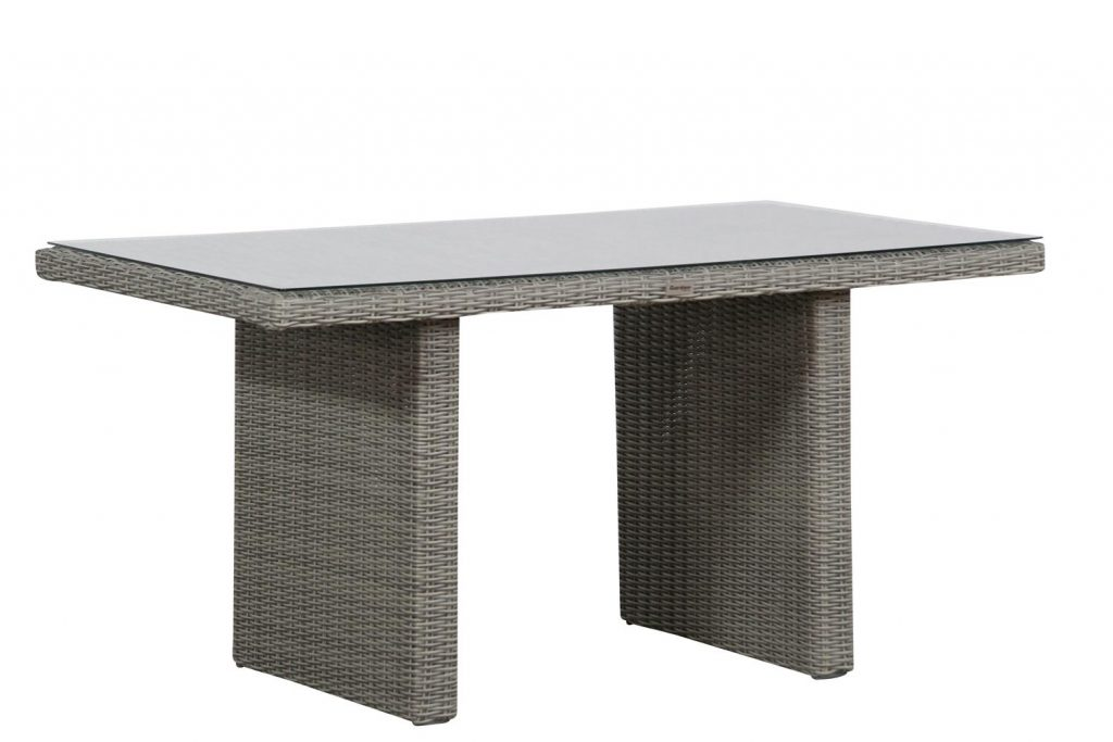 Garden Collections Wilson lounge/dining tafel 140 x 70 cm